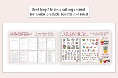 Printable Planner Stickers, Stickers cut files, BuJo Sticker Product Image 4