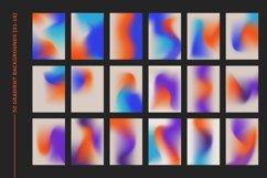 1970s Retro Gradient Backgrounds Set Product Image 2