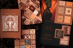 """Ethnic African Patterns and tiles """"Ancestral land"""" Product Image 2"""