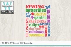 Spring SVG - Spring Subway Art Product Image 2