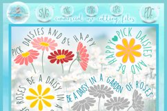 Daisy SVG| Be A Daisy Quote SVG Product Image 2