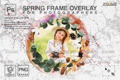 Spring flower digital frames overlay Easter Product Image 5