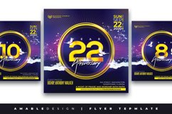 Church Anniversary Flyer Product Image 1