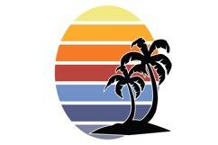Tropical Sunset Bundle DIY Kit SVG Product Image 5