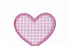 Simple Heart Applique Design Product Image 4