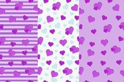 Set pattern with hearts Eps 10 JPEG Product Image 1