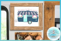 Welcome To My Glamper Happy Glamping Camping SVG Product Image 4