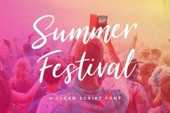 Summer Festival Typeface Product Image 1