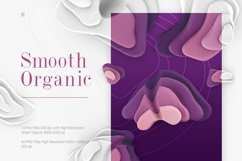 Smooth Organic / Set of graphic elements Product Image 1