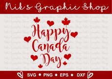 Canada Day SVG, Happy Canada Day SVG, Canada svgs Product Image 4