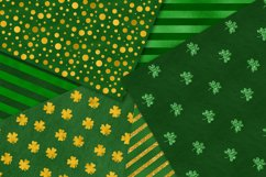 St. Patrick's Day Digital Paper Pack Product Image 2