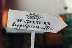 Wedding SVG bundle signs plus clipart Product Image 4