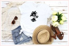 Palm Tree svg, Tropical svg, summer svg Product Image 2