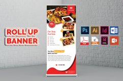 Restaurant Roll Up Banner Vol-03 Product Image 2