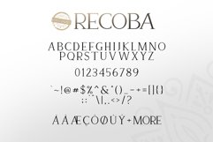 Recoba Font Family Product Image 6