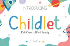 Childlet - Kids Cheerful Font Family Product Image 1