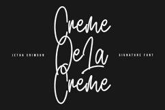 Jetha Crimson Signature Brush Font Typeface Product Image 3