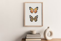 Boho butterfly print, Digital butterfly poster, Spring print Product Image 4