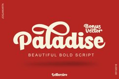 Paladise Font & Extras Product Image 2