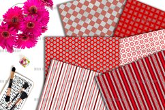 Brilliant Ruby Digital Paper Product Image 3