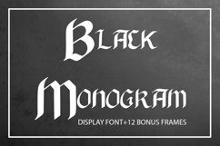 Black Monogram Creator Product Image 1