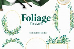 Foliage - Watercolour Leafs Product Image 4