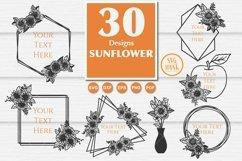 Best seller Sunflower SVG Bundle of 30 Designs Product Image 2
