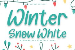 Winter Snow White Product Image 1
