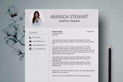 Resume Template | CV Cover Letter - Amanda Stewart Product Image 4