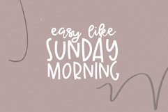 Sunday Morning - A Handwritten Script Font Product Image 3