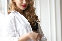 Portrait shoot of young beautiful pregnant woman Product Image 1
