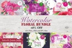 Watercolor Floral Bundle Product Image 1
