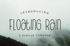 Web Font Floating Rain Product Image 1