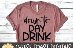 Down To Day Drink - Funny Beer SVG Files Product Image 3