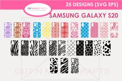 25 Galaxy s20 SVG Designs| Phone Case Decals Product Image 1