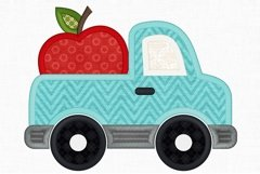 Apple Truck Applique Design 1296 Product Image 2