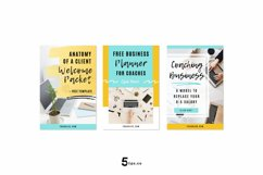 Traffic Generating Video Animated Pinterest Pin Pack | Canva Product Image 3
