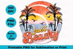 Just Beachy Retro Beach Summer Cruise Island Sublimation Product Image 2