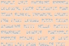 Sunflower | Bold Quirky Hand Written Font Product Image 2
