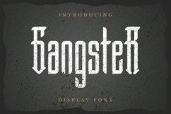 Web Font Gangster Font Product Image 1