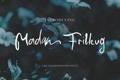 Madam Frilleug Font Product Image 3