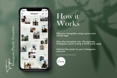 Instagram Puzze Template, Canva, Bloggers Instagram Grid Product Image 3