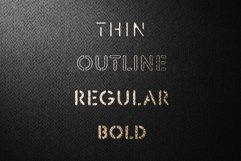 Stencil Headline Font Product Image 1