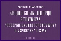 Perserk A Vintage Serif typeface Product Image 6