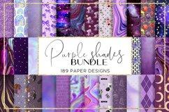 Blue Shades BUNDLE digital paper pattern Product Image 1