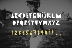 CUT ME if you can Uppercase fun font Product Image 2