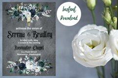 Gothic Dark Wedding Invitation Product Image 6