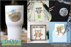 Cute Forest Animals Clipart Product Image 2