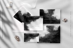 Ombre Watercolor Wedding Invitation Suite Product Image 3