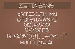 Zietta - Font Duo Product Image 3